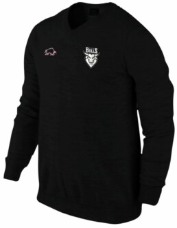 Ayrshire Bulls Lambswool Sweater Black